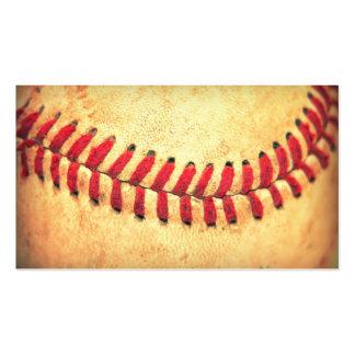 Bola del béisbol del vintage tarjetas de visita
