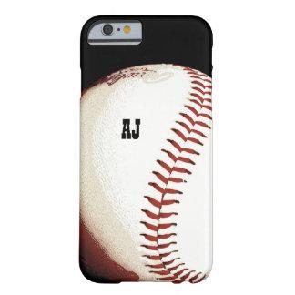 bola del béisbol - estilo - caso del iPhone 6