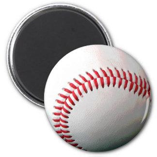 Bola del béisbol imán redondo 5 cm