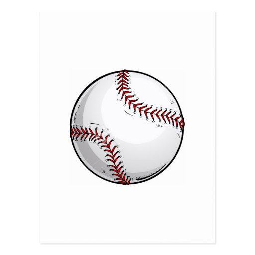 Bola del béisbol postal