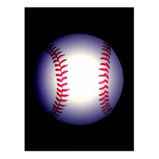 Bola del béisbol tarjetas postales