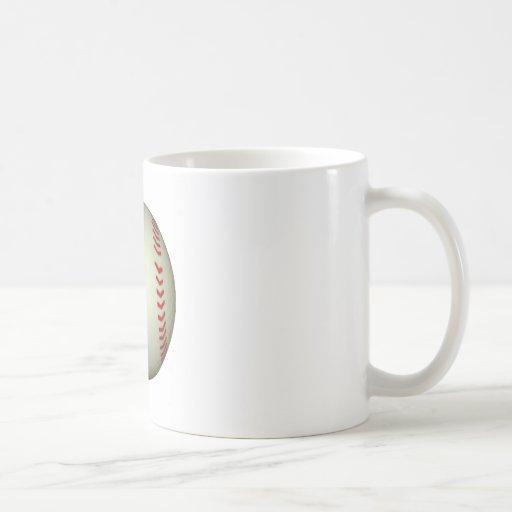 Bola del béisbol taza
