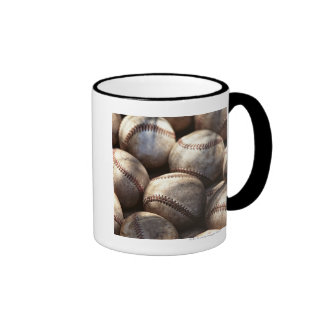 Bola del béisbol tazas de café