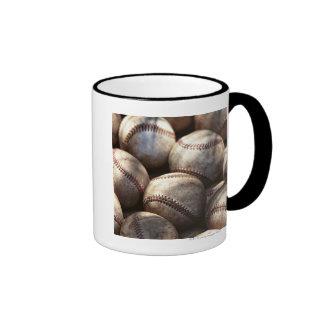Bola del béisbol taza de dos colores