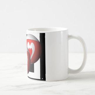 Bola del corazón taza de café