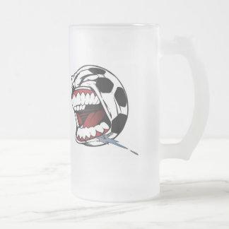 Bola del Gritar-Fútbol Taza De Cristal