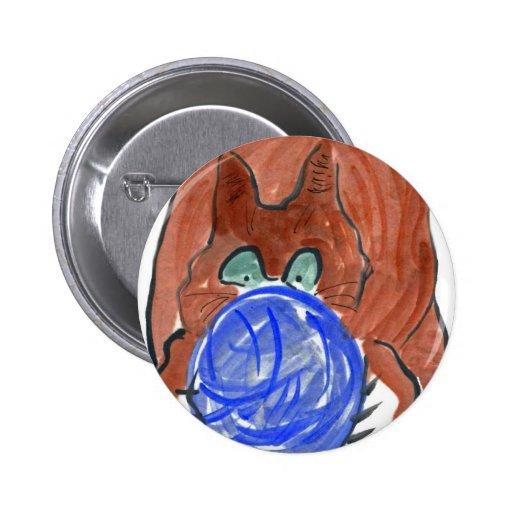 Bola del hilado de Humogus y gatito del tigre Pins