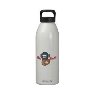 Bola del juego botellas de agua reutilizables