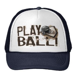 ¡Bola del juego! Gorra