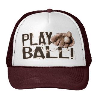 ¡Bola del juego! Gorra del guante