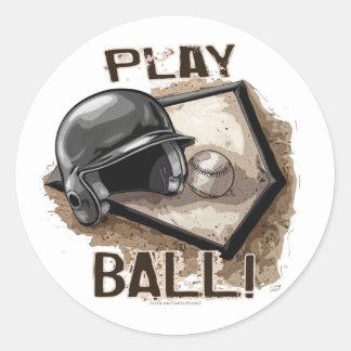 ¡Bola del juego! Pegatina