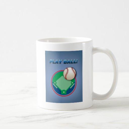 ¡Bola del juego! Tazas De Café