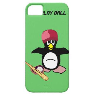 Bola del juego un diseño divertido del béisbol del iPhone 5 carcasas