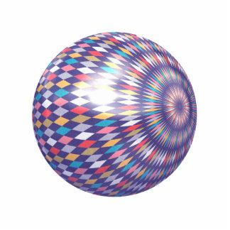 Bola del modelo del Rhombus Escultura Fotográfica