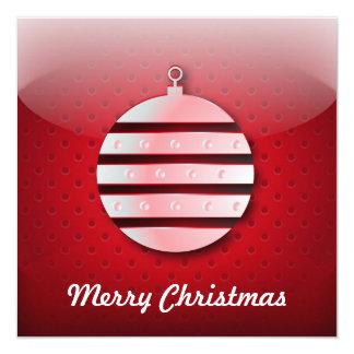 Bola del navidad del icono de la invitación