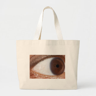 Bola del ojo bolsas lienzo