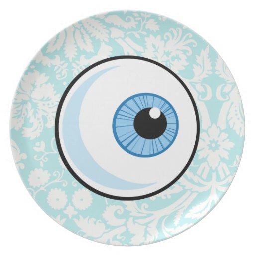 Bola del ojo; Lindo Plato