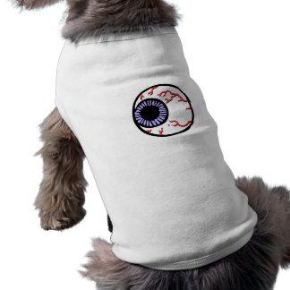 Bola del ojo camisetas de perrito