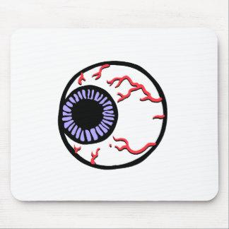 Bola del ojo alfombrillas de raton
