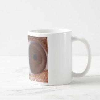 Bola del ojo tazas de café