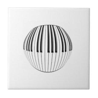 Bola del piano azulejo cerámica