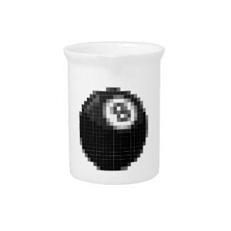 Bola del pixel 8 jarrones