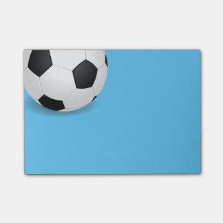 Bola del Poste-él-Nota-Fútbol Nota Post-it