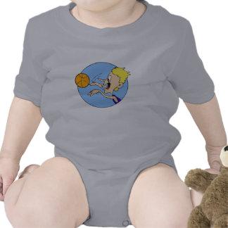 Bola del tiroteo del muchacho trajes de bebé