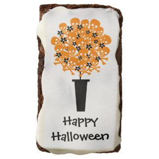 Bola del Topiary del cráneo de Halloween