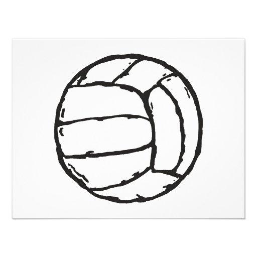 Bola del voleibol comunicado
