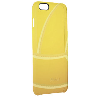 Bola del voleibol funda clearly™ deflector para iPhone 6 plus de unc
