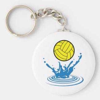 Bola del water polo llaveros personalizados