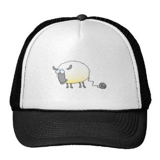 bola divertida del dibujo animado reproducido hila gorra