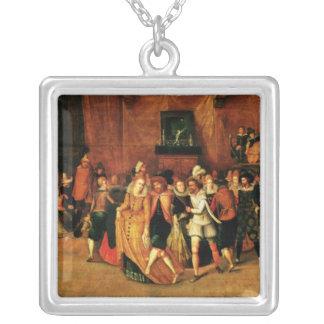 Bola durante el reinado de Enrique III, 1574-1623 Colgante Cuadrado