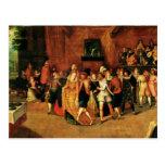 Bola durante el reinado de Enrique III, 1574-1623 Postal