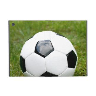 Bola e hierba de fútbol iPad mini cárcasas