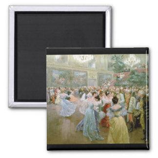 Bola en el Hofburg, 1900 de la corte Imán Cuadrado