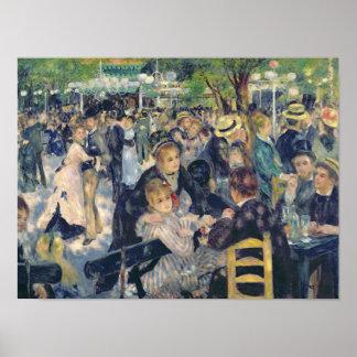 Bola en el Moulin de la Galette, 1876 Impresiones