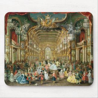Bola enmascarada en el Hoftheater, Bonn, 1754 Alfombrillas De Raton