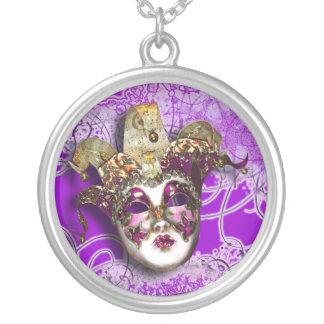 Bola enmascarada veneciana del fiesta de la mascar collar personalizado
