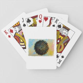 bola enojada 8 barajas de cartas