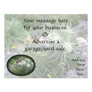 Bola escarchada: Wildflowers alpinos Flyer Personalizado