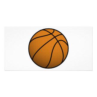 Bola fresca de los deportes B del baloncesto y del Plantilla Para Tarjeta De Foto