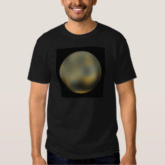 Bola gigante del planeta de Plutón en el cielo Playera