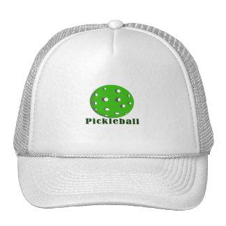 bola green png del texto n del pickleball gorro de camionero
