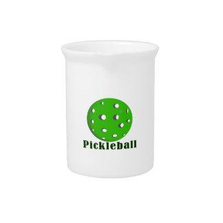 bola green.png del texto n del pickleball jarras