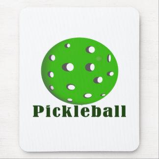 bola green.png del texto n del pickleball tapete de ratón