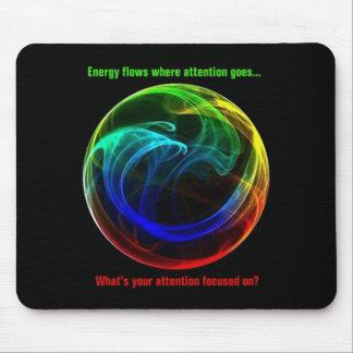 Bola Mousepad de la energía Alfombrilla De Raton