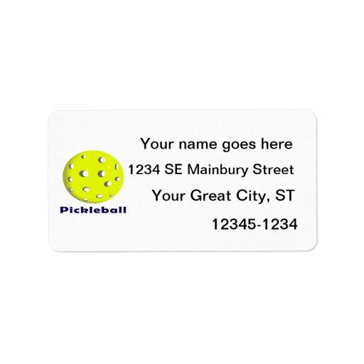 bola n text.png del pickleball apenas etiqueta de dirección