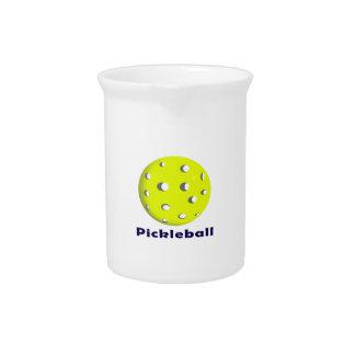 bola n text.png del pickleball apenas jarra para bebida